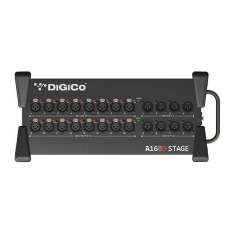 DiGiCo Dante A168D STAGE Front