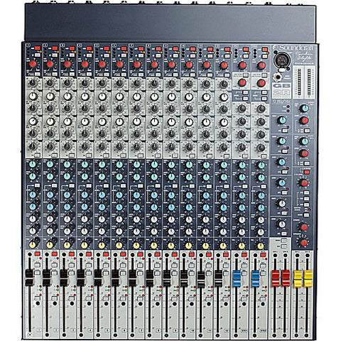 Soundcraft GB2R 12ch Front Top View