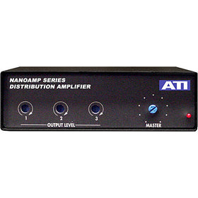 ATI Audio DA103 1x3 Distribution Amplifier - Servo Blanced Outputs, Phoenix I/O