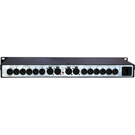 ATI Audio DDA212-XLR Series 2 Two-Input 1X12 or Dual 1X6 Digital Audio DA, up to 192kHz SR, Switchable Re-clocking, XLR I/O