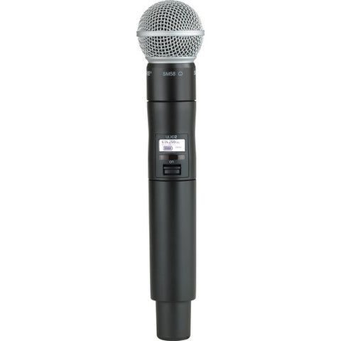 ULXD2/SM58 Handheld Transmitter with SM58® Microphone
