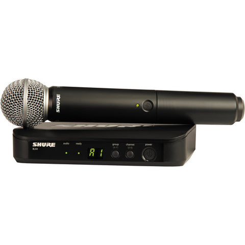 Shure BLX24/SM58 Vocal Handheld Wireless System