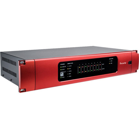 Focusrite RedNet 1 8 Channel 24/192 Analogue Dante I/O Interface