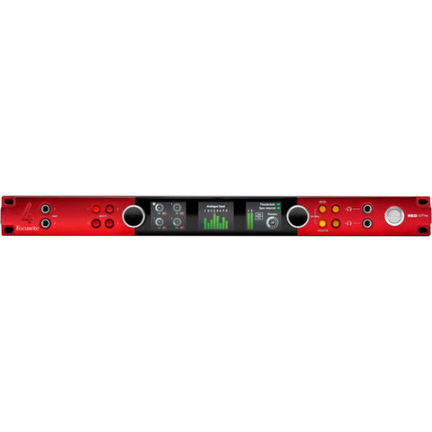 Focusrite Red 4Pre 58 In/64 Out Thunderbolt 2 and Pro Tools|HD Interface with Dante