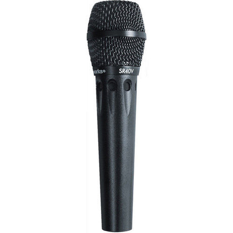 Earthworks SR40V Hypercardioid Vocal Microphone - 20Hz to 40kHz (mic clip and case included)