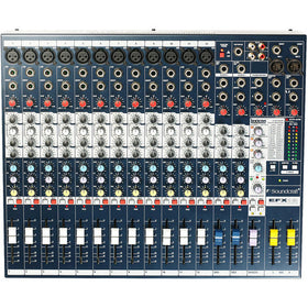 Soundcraft EFX12 Front Top View