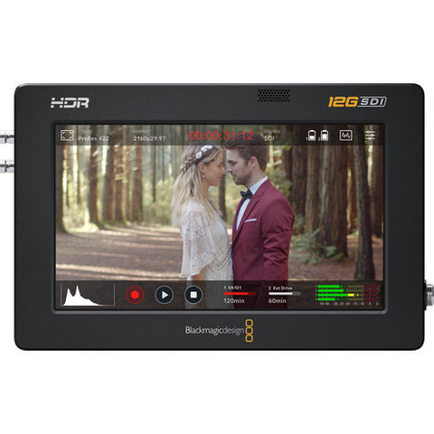 Blackmagic Design BMD-HYPERD/AVIDA12/5HDR Video Assist 5'' 12G HDR front view