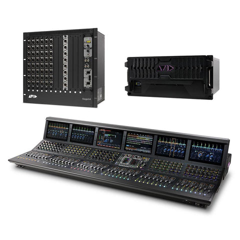 AVID 9935-72568-00 VENUE | S6L-48D-144 S6L-48D Control Surface; E6L-144 Engine; Stage 64 (48x8)