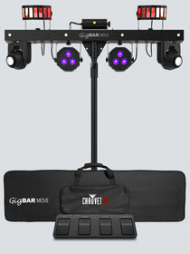 Chauvet Gig Bar Move front with bag