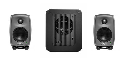 Genelec 8010.LSE™ StereoPak Two 8010APs & one 7040 subwoofer. Producer Finish. Studio Monitor system