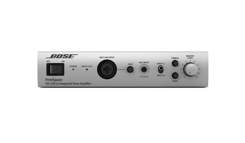 Bose FreeSpace IZA 250-LZ Integrated Zone Mixer Amplifier front view
