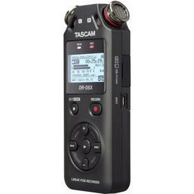Tascam DR-05X quarter left
