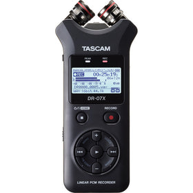 Tascam DR-07X front view