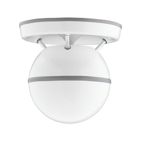 SS-Q-8-WH Soundsphere Q-8 Loudspeaker in White front view
