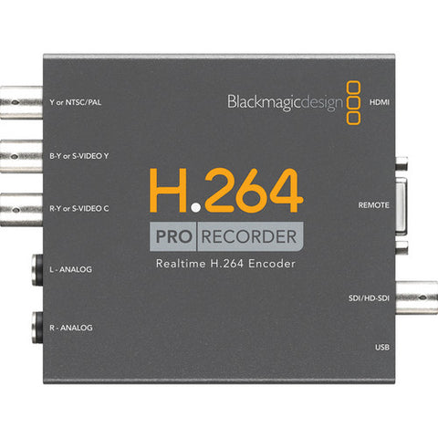 Blackmagic Design BMD-VIDPROREC H.264 Pro Recorder top view