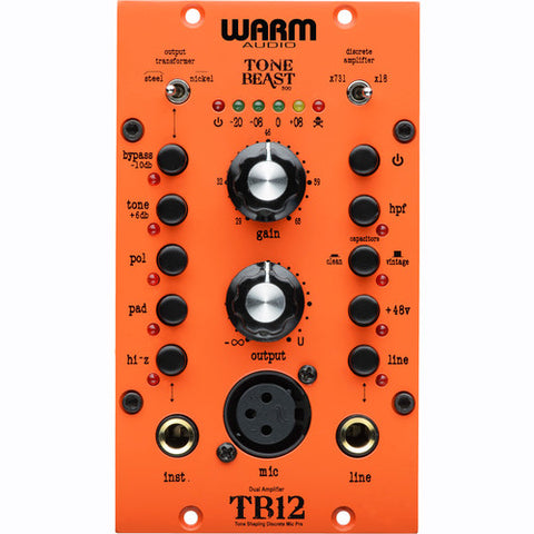 Warm Audio TB12-500 front view