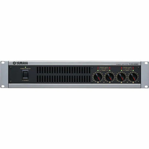 Yamaha XM4080 Multi-channel Power Amplifier Front View
