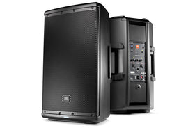 JBL EON612 vertical quarter left