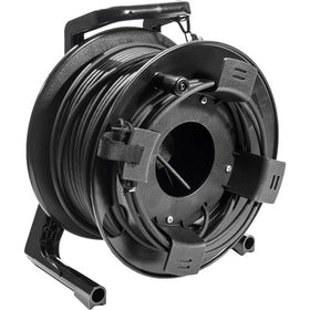 Mackie 80m Cat5e Reel quarter right