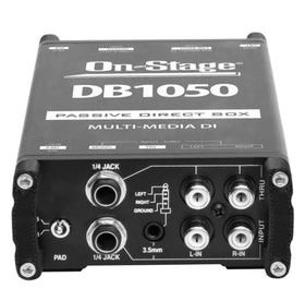 OnStage DB1050 Passive Multi-Media DI Box