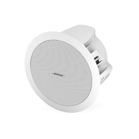 FreeSpace DS 16F Contractor 6-Pack Flush Ceiling Speakers 6 DS 16F Loudspeakers and 6 Tile Bridges white quarter left