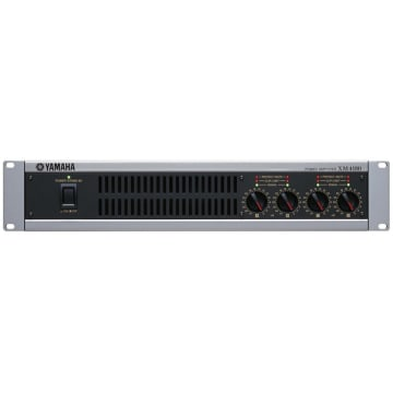 Yamaha XM4180 Multi-channel Power Amplifier Front View