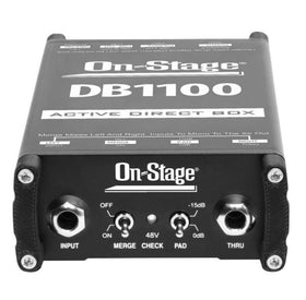 OnStage DB1100 Active DI Box