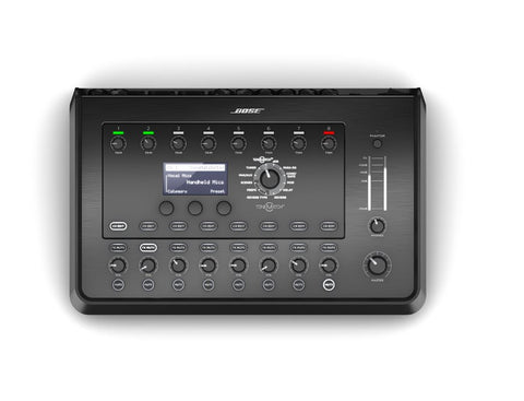 Bose T8S ToneMatch Mixer system controls overview