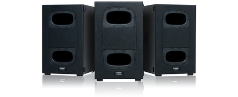 QSC KS112 set of 3 front view