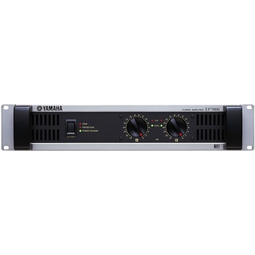 Yamaha XP7000 Power Amplifier Front View