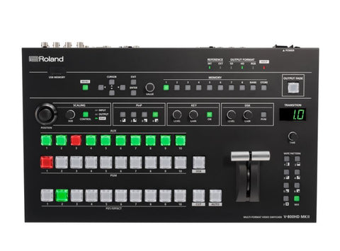 Roland V-800HD MK II Top View