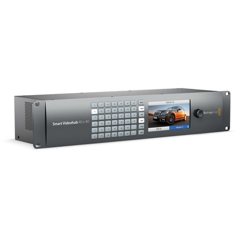 Blackmagic Design BMD-VHUBSMART6G4040 Smart Videohub 40x40 quarter right