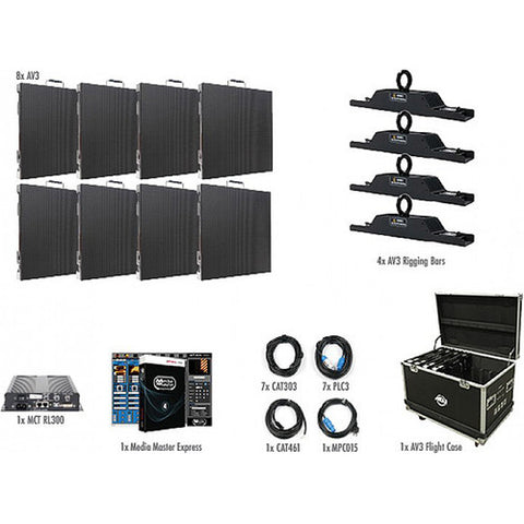 American DJ AV3 4x2 LED Screen  system