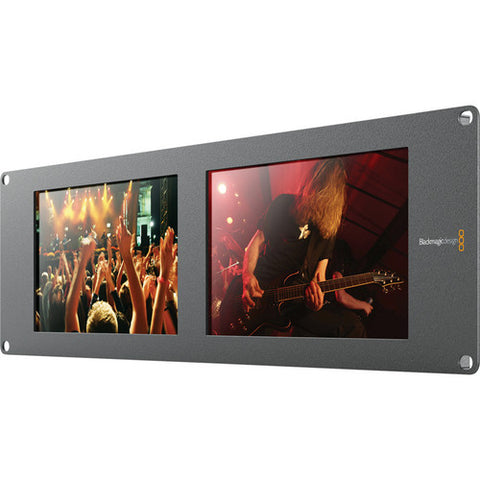 Blackmagic Design BMD-HDL-SMTVDUO2 SmartView Duo 2 quarter left