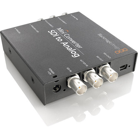 Blackmagic Design BMD-CONVMASA Mini Converter - SDI to Analog quarter right