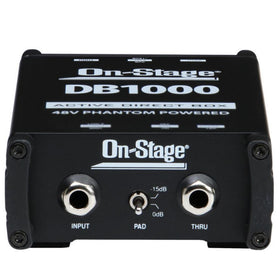 OnStage DB1000 Active DI Box