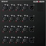 Allen & Heath AH-DX164-W Wall box I/O Expander 16 Mic/Line in, 4 Line out