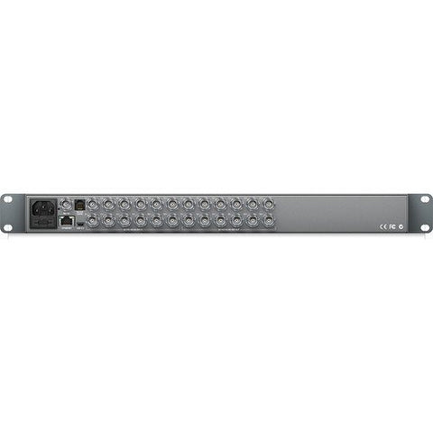Blackmagic Design BMD-VHUBSMART6G1212 Smart Videohub 12x12 rear view