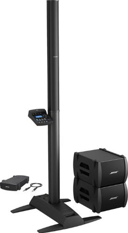 Bose L1 Model II PA Sound System - Double B2 Bass Package with PackLite Power Amplifier Model A1 2 speakers and stand