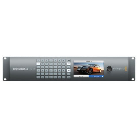 Blackmagic Design BMD-VHUBSMART6G4040 Smart Videohub 40x40 rear view