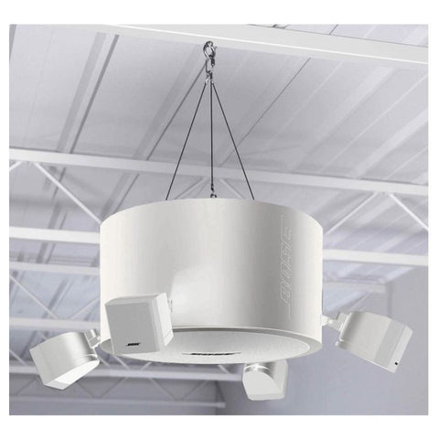 Bose FreeSpace 3 Series II Omni Pendant-Mount when installed white