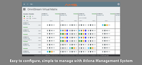 Atlona AT-OMNI-111 front system interface