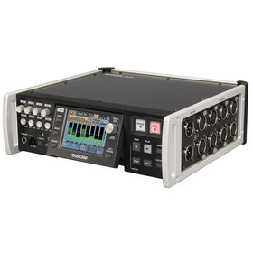 Tascam HS-P82 PORTABLE quarter left
