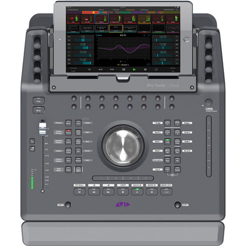 AVID Dock Pro Tools top view