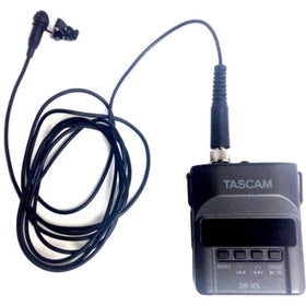 Tascam DR-10L front all set view