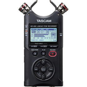 Tascam DR-40X  front view