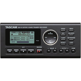 Tascam GB-10 GUITAR TRAINER/RECORDER front view