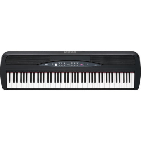 KORG SP280BK (Black) top view