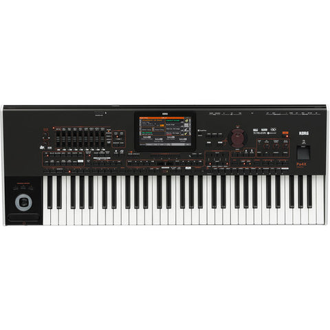 KORG PA4XORT61 top view