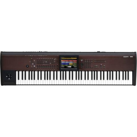KORG KRONOS288LS KRONOS top view